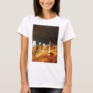 Night Traffic And Monument T-Shirt