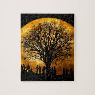 Night Tree Jigsaw Puzzle