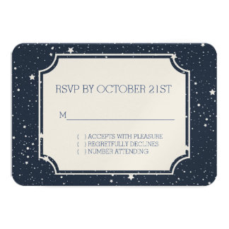 Night Under the Stars RSVP Card