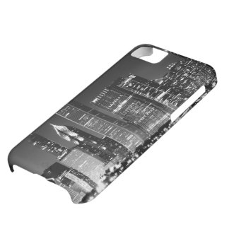 Night view of Chicago's famous cityscape iPhone 5C Case