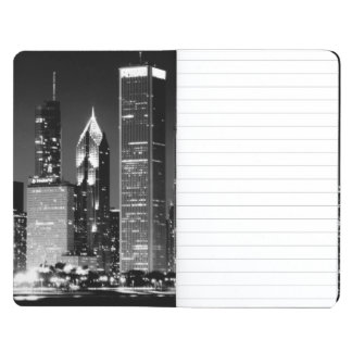 Night view of Chicago's famous cityscape Journal