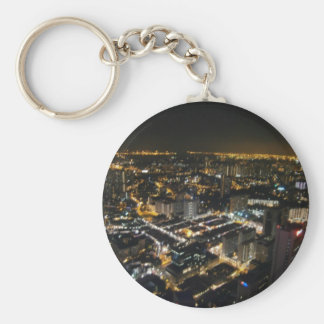night view of city key ring