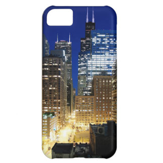 Night view of cityscape of Chicago iPhone 5C Case
