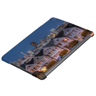 Night view of 'painted ladies'  houses case for iPad air