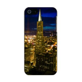 Night view of San Francisco. Incipio Feather® Shine iPhone 5 Case