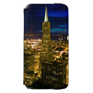 Night view of San Francisco. Incipio Watson™ iPhone 6 Wallet Case