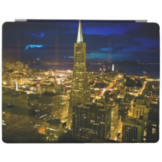 Night view of San Francisco. iPad Cover
