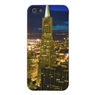 Night view of San Francisco. iPhone 5 Case