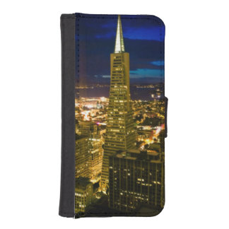 Night view of San Francisco. iPhone SE/5/5s Wallet Case