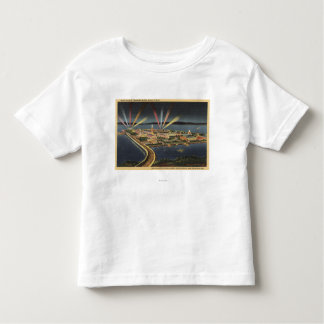 Night View of Treasure Island, Internat'l Expo Toddler T-Shirt