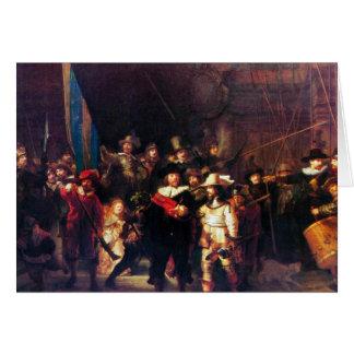 Night Watch by Rembrandt Harmenszoon van Rijn Cards