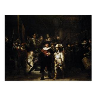 Night Watch by Rembrandt Postcard