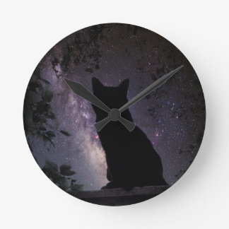 Night Watch Round Clock