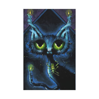 Night Watchers on Canvas Gallery Wrapped Canvas
