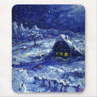 Night. Winter. Russia Mouse Pad