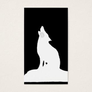 night wolf business card
