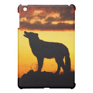 Night Wolf Silhouette iPad Mini Covers