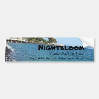 Nightbloom s Come Fall in Love Blue Bumper Sticker