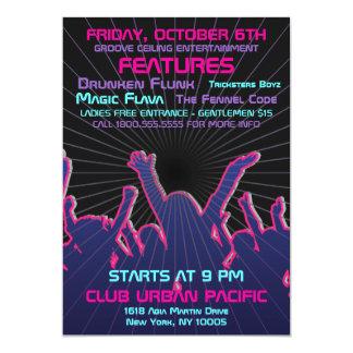 Nightclub Dance Rave Template