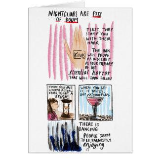Nightclubs Card