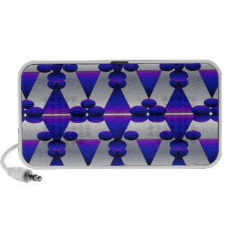 Nightfall and Silver Pattern Mp3 Speaker
