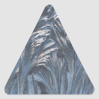 NighTime Frost Forest Triangle Sticker