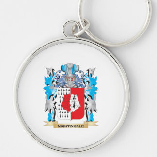 Nightingale Coat of Arms - Family Crest Key Chains