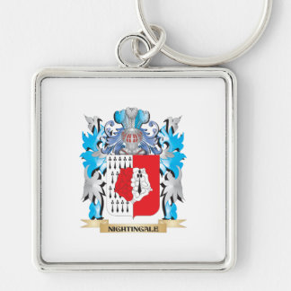 Nightingale Coat of Arms - Family Crest Keychains