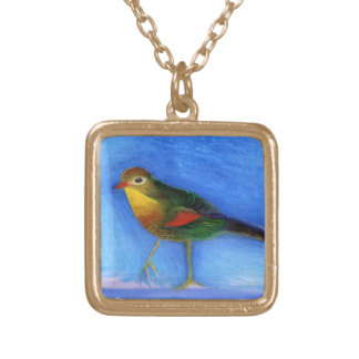 Nightingale Light 2012 Gold Plated Necklace