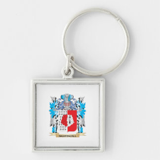 Nightingall Coat of Arms - Family Crest Keychain
