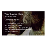 Nightmare By Füssli Johann Heinrich (Best Quality) Double-Sided Standard Business Cards (Pack Of 100)