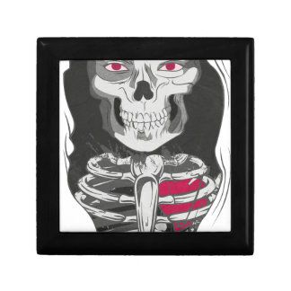 Nightmare Evil Lady Small Square Gift Box