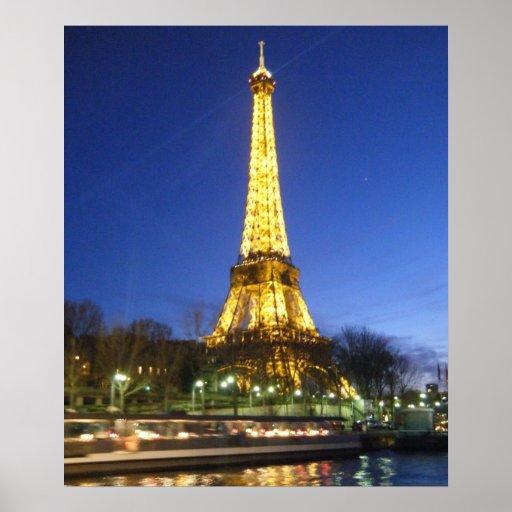 Nights in Paris Poster