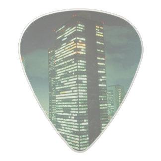 Nightscape, Shinjuku, Tokyo, Japan Acetal Guitar Pick