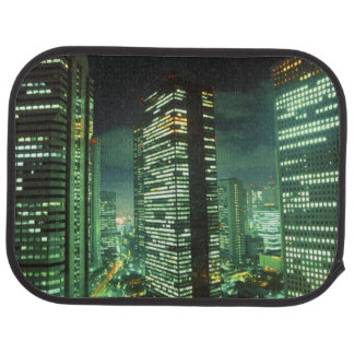 Nightscape, Shinjuku, Tokyo, Japan Car Mat