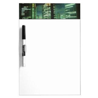 Nightscape, Shinjuku, Tokyo, Japan Dry-Erase Boards