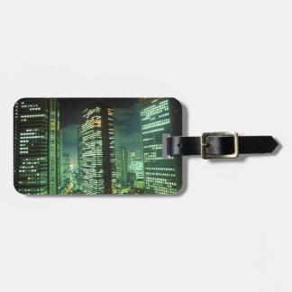 Nightscape, Shinjuku, Tokyo, Japan Luggage Tag
