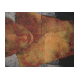 NightSwimming 2000 Wood Print