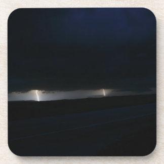 Nighttime Double Lightning Coasters
