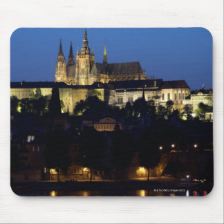 Nighttime in Prague, Czech Republic Mouse Mat