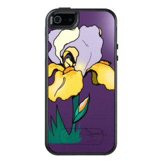Nighttime Iris Cute Floral OtterBox iPhone 5/5s/SE Case