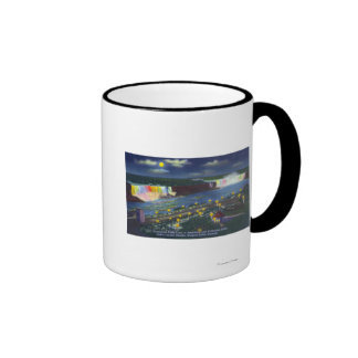 Nighttime View of Oakes Garden Theatre and Ringer Mug