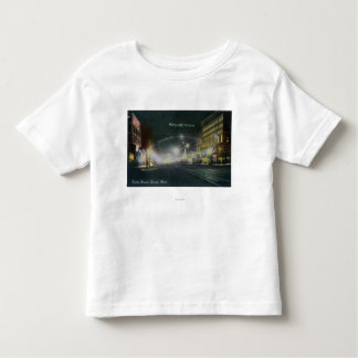 Nighttime View of Pacific Avenue Toddler T-Shirt