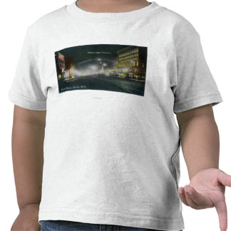 Nighttime View of Pacific Avenue T-shirt