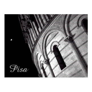 Nightview of Pisa, Italy Postcard