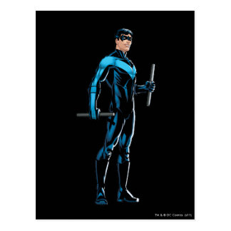 Nightwing looks right postcard