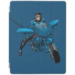 Nightwing on bike iPad cover