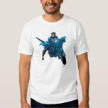 Nightwing on bike tshirts