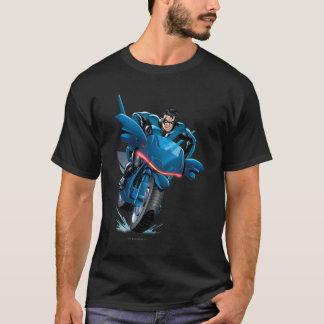 Nightwing rides bike T-Shirt