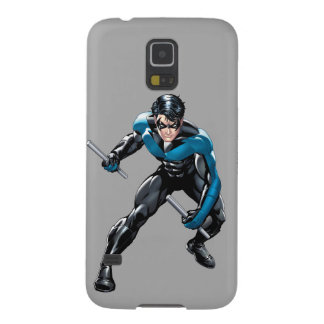 Nightwing with Weapons Case For Galaxy S5